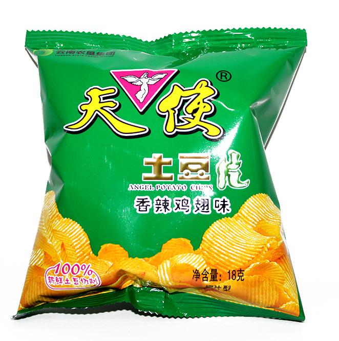 万博体育appios土豆片-香辣鸡翅