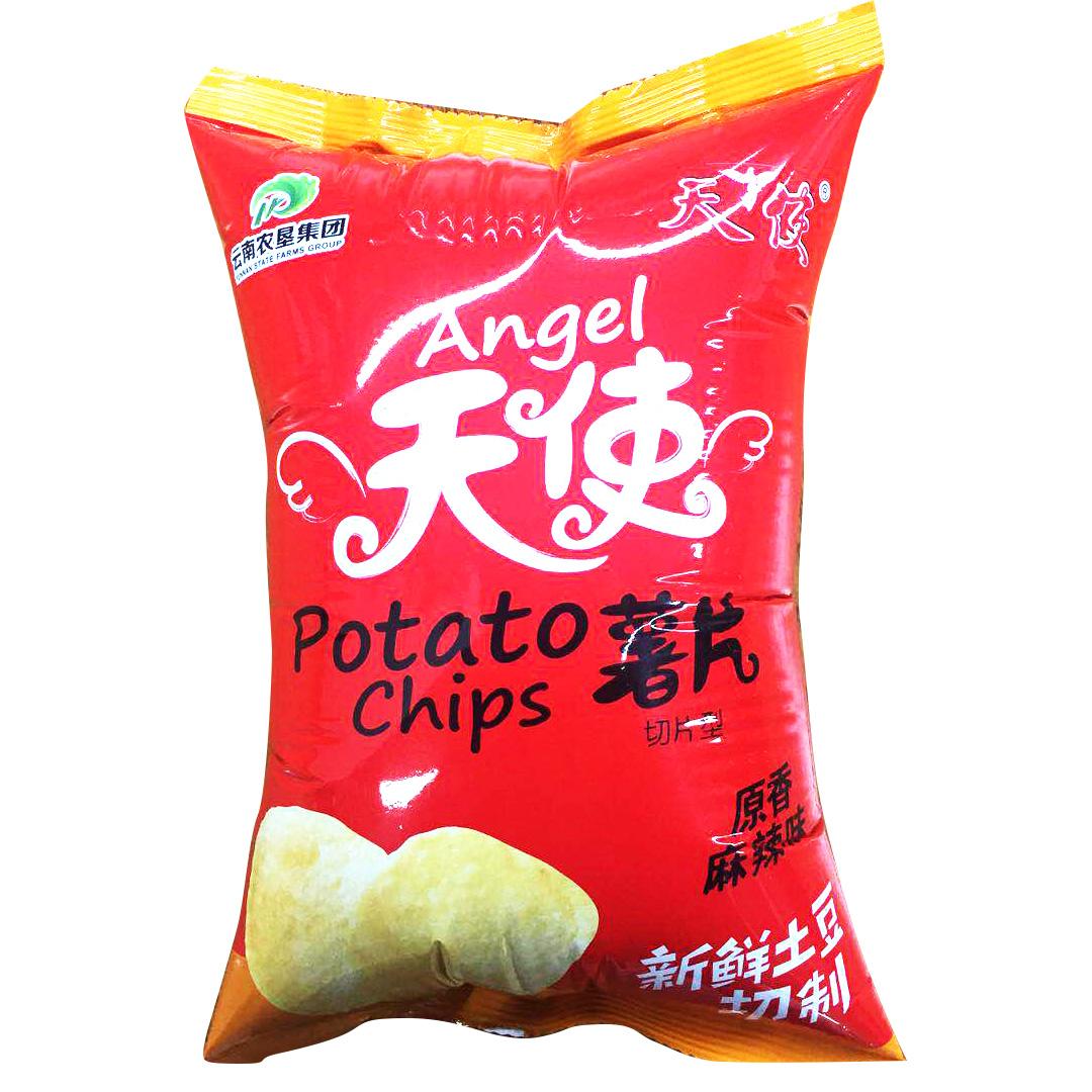 万博体育appios土豆片-新包装麻辣味